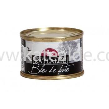 Bloc de foie gras de pato 65 gr, 98% de foie-bloc-katealde-comprarenred.com