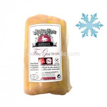 Foie gras mi-cuit Pato Variable-foie-entero-katealde-comprarenred.com