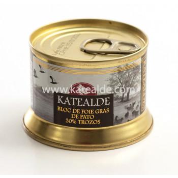 Bloc de foie gras de pato con trozos-bloc-katealde-comprarenred.com