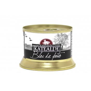 Bloc de foie gras de pato 130 gr, 98% de foie-bloc-katealde-comprarenred.com