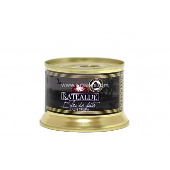 Bloc de foie gras de pato con Trufa-bloc-katealde-comprarenred.com