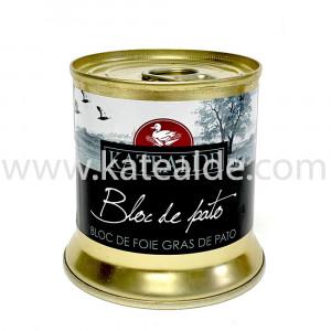 Bloc de foie gras de pato 200 gr, 98% de foie-bloc-katealde-comprarenred.com