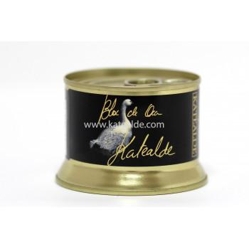Bloc de foie gras de oca 130 gr, 98% de foie-bloc-katealde-comprarenred.com