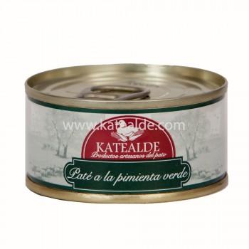 Paté pimienta verde 80 gr-pates-y-mousses-katealde-comprarenred.com