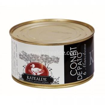 Confit de manchons de pato, 6 Unidades-confit-de-pato-katealde-comprarenred.com