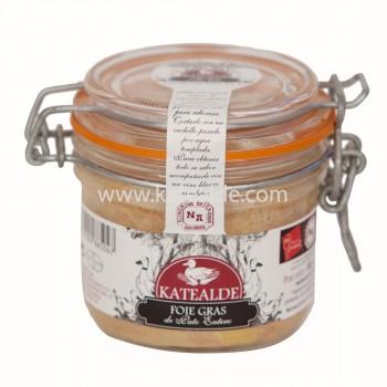 Foie gras entero Pato 180gr Conserva-foie-entero-katealde-comprarenred.com