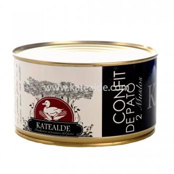 Confit de muslos de pato, 2 unidades-confit-katealde-foie-gras